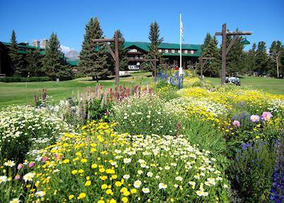 Gardens of Glacier Park Lodge