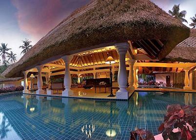 Lobby at Carnoustie Beach Resort, Marari Beach
