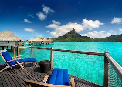 Premium overwater bungalow, Le Meridien, Bora Bora