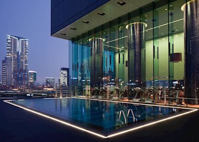 Outdoor Swimming Pool, Hotel Icon