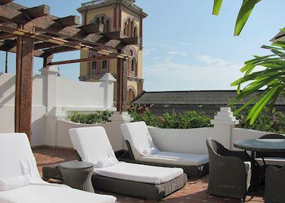 Roof terrace, Casa San Agustin Cartagena
