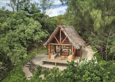 Bungalow, Constance Hotel Tsarabanjina,The Nosy Mitsio Islands
