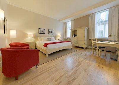 Superior room, Le Saint-Pierre Auberge Distinctive, Québec City