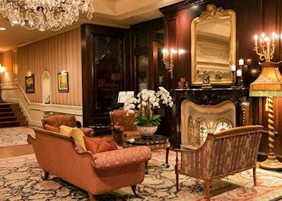 The lobby, Wedgewood Hotel and Spa, Vancouver