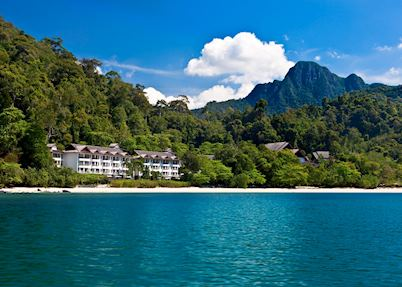 View of the resort, The Andaman, Langkawi