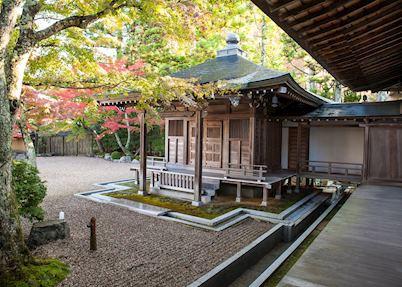 Tentoku-in Shukubo, Buildings and Gardens