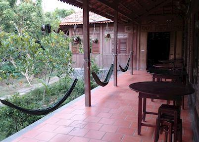 Ut Trinh  Homestay,Vinh Long, Outdoor Area