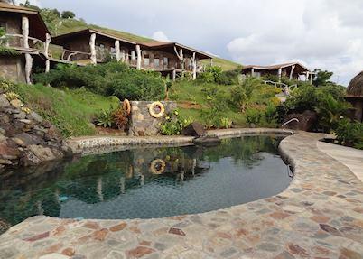 Pool at Hare Uta