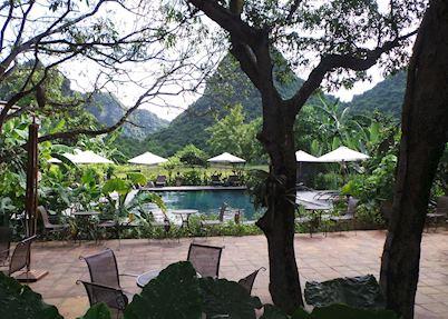 Pool at Tam Coc Garden