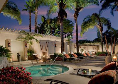 The Spa Terrace, Loews Coronado Bay, San Diego