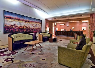 Lobby at Amora Jamison Hotel, Sydney
