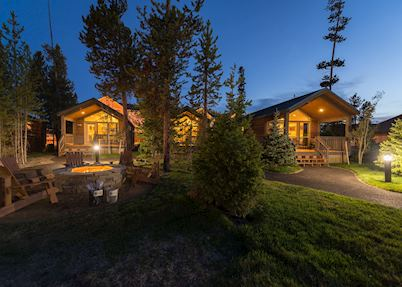 Explorer Cabins at West Yellowstone, Yellowstone National Park