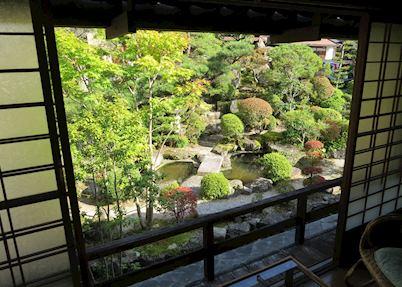 Fujioto Front Garden, Tsumago, Japan