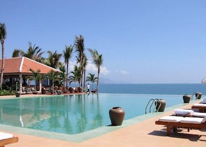 Pool at the Ana Mandara Resort, Nha Trang
