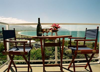 View from the veranda, The Lemon Tree, Kaikoura