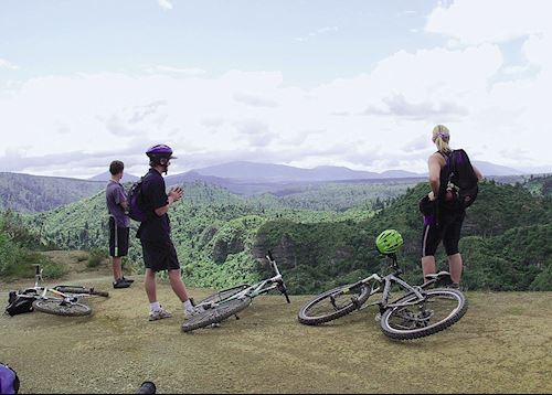 Full day guided mountain bike tour, Taupo