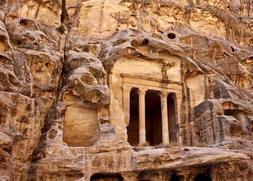 Little Petra, Petra