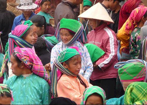 Dong Van Sunday market, Ha Giang province