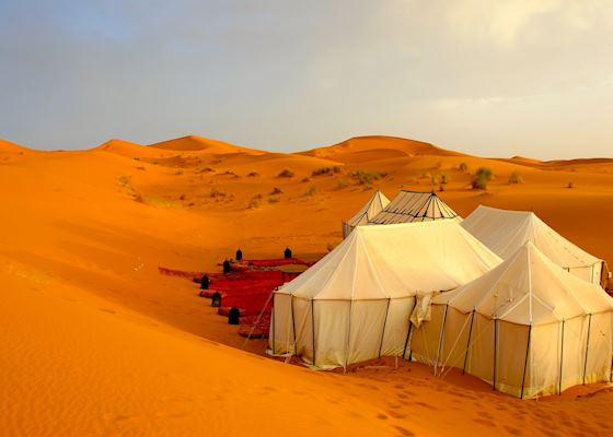 Bedouin Tent Erg Chebbi & Gold Sand Camp | The Erg Chebbi | Audley Travel