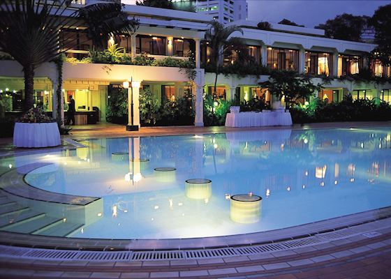 Pool At Night Serena Hotel Nairobi