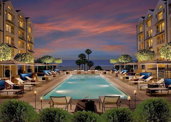 Pool Loews Hotel Santa Monica Los Angeles