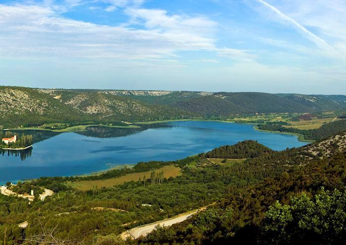 Hillsides of Hvar, Croatia