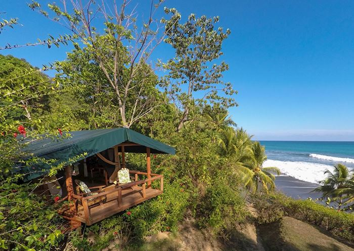 Standard tent with Ocean View