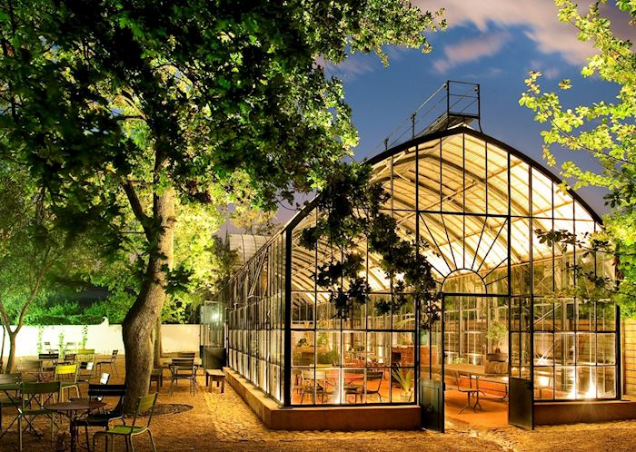 Babylonstoren, Greenhouse restaurant