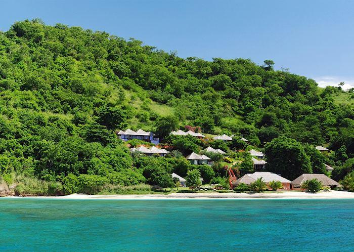 View from the Ocean, Laluna Boutique Resort & Villas, Grenada