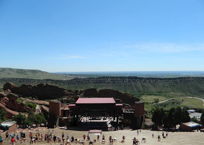 Red Rocks Amphitheatre, Denver, USA
