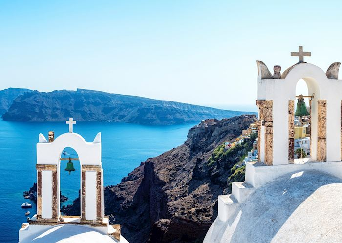 View from the path to Oia, Santorini