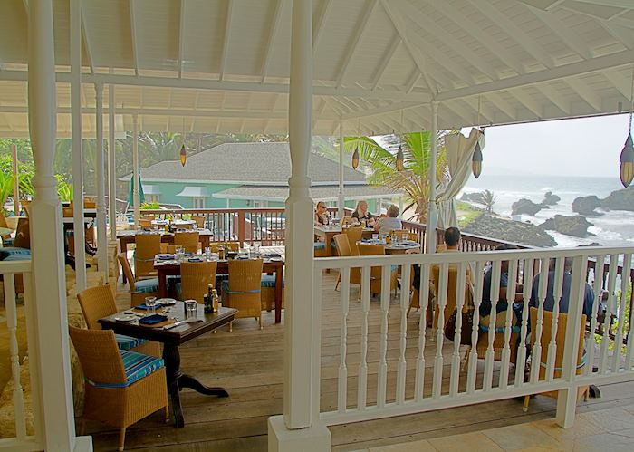 Restaurant, The Atlantis Hotel, Barbados