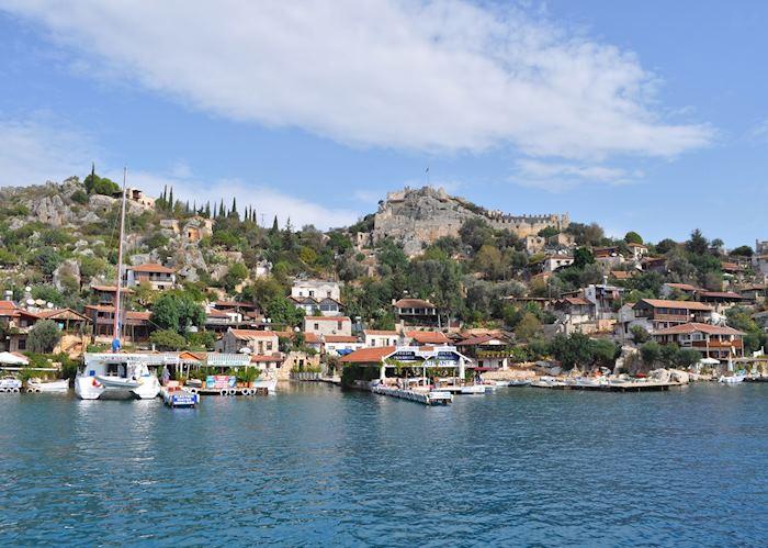 Kekova sunken city boat trip