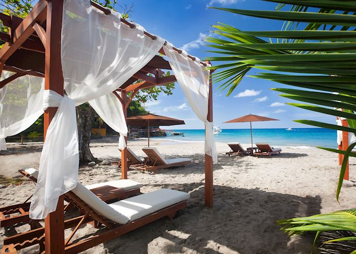 Beach, Ti Kaye Resort & Spa, Saint Lucia