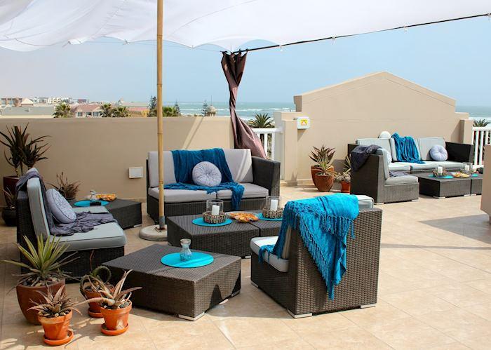 Roof Terrace, Hotel Zum Kaiser, Swakopmund