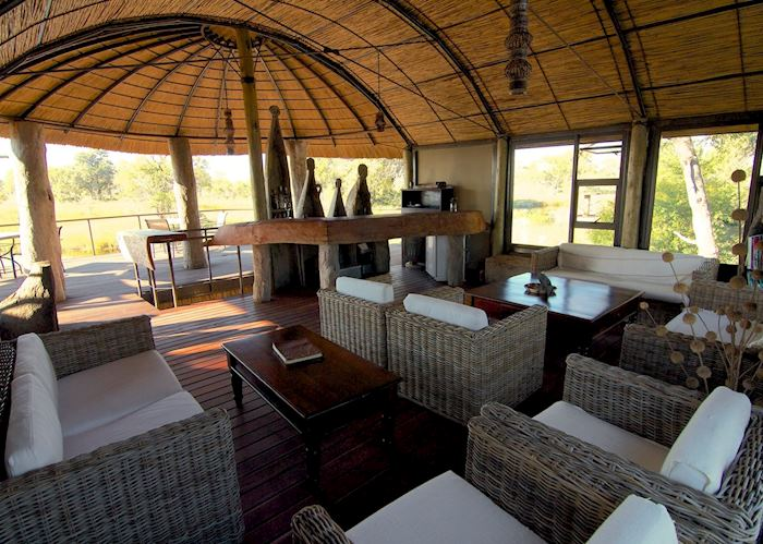 Guest Lounge,Nkasa Lupala Tented Lodge