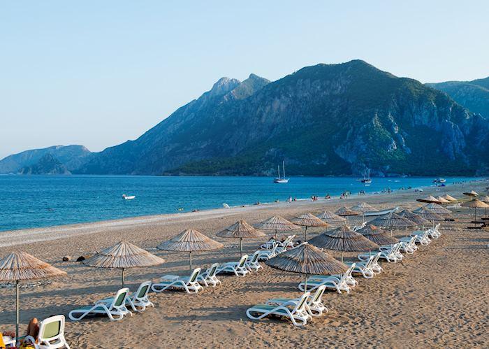 Çirali beach