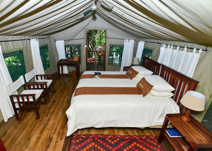Guest Tent,Ichingo River Lodge,Impalila Island