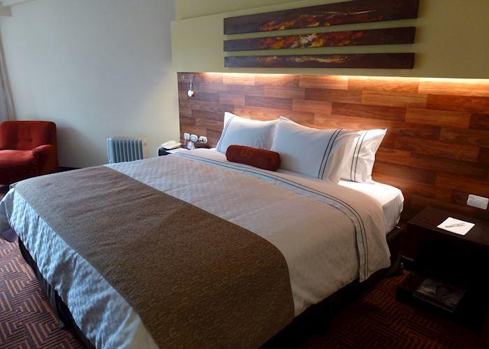 Simple double room, Posadas del Inca Puno