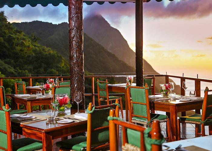 Dahseene Restaurant, Ladera, Saint Lucia