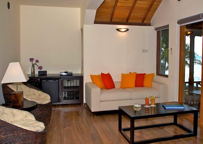 Saman Villas Suite Living Room, Saman Villas, Bentota