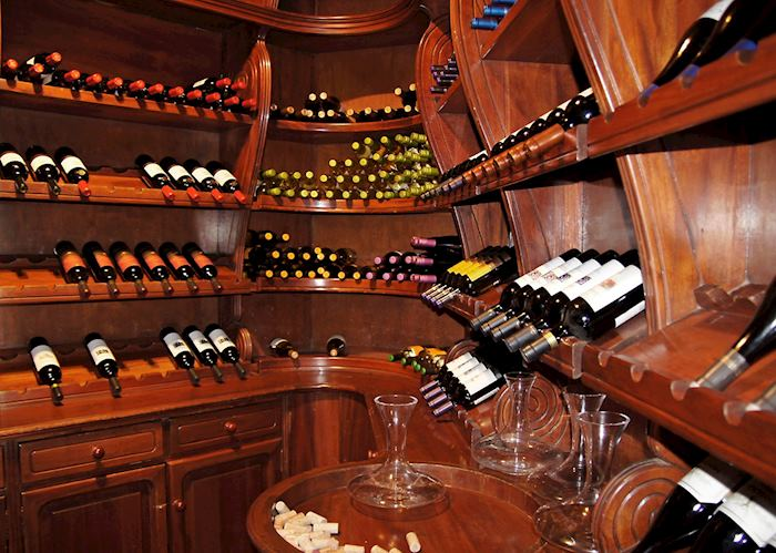 Wine Cellar, Royal Palm Hotel, Galapagos Islands