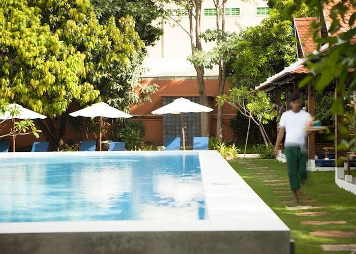 Pool at iRoHa Garden