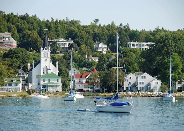 Waterfront on Mackinac Island