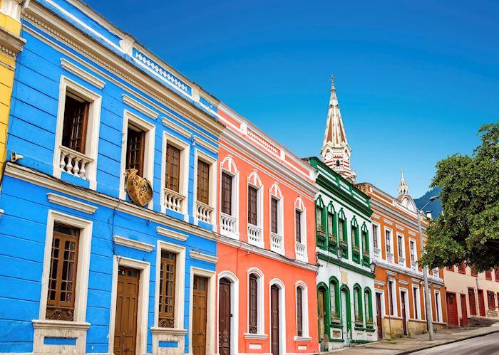 Colorful façades, Bogotá