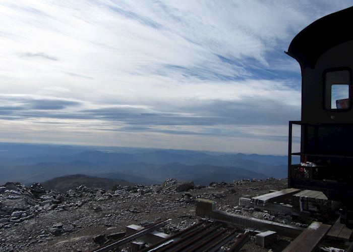 Peak of the Cog Railway, Mount Washington