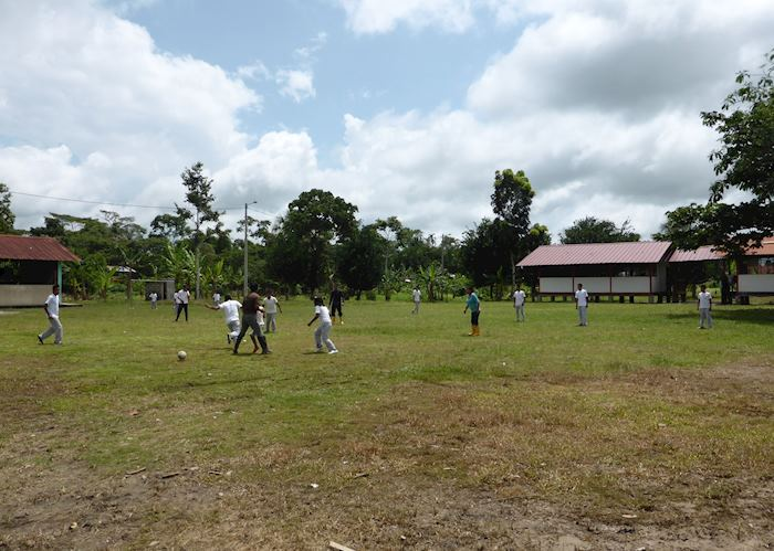 Football in the Bellavista community