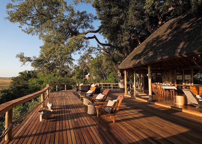 Kwetsani Camp, deck area