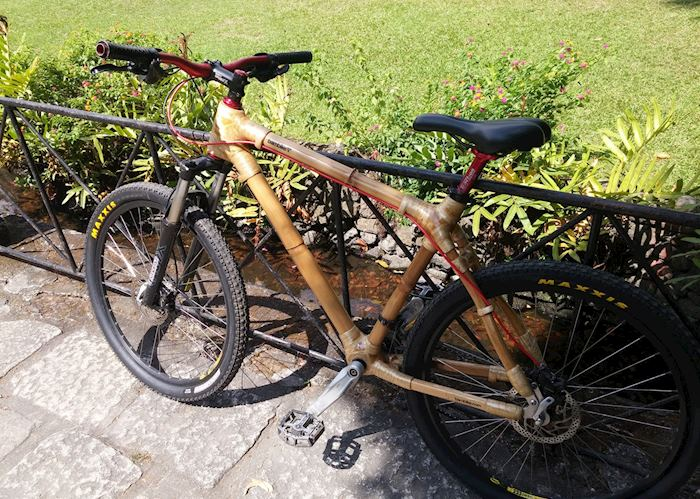 Bamboo bike, Intramuros