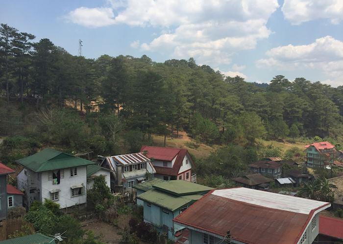 View from Masferré Country Inn, Sagada